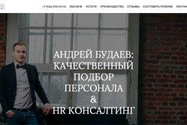 АНДРЕЙ БУДАЕВ: КАЧЕСТВЕННЫЙ ПОДБОР ПЕРСОНАЛА & HR КОНСАЛТИНГ